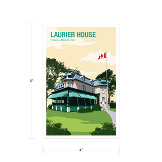 Parks Canada Vintage Series-Laurier House National Historic Site