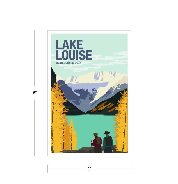Parks Canada Vintage Series-Lake Louise National Park