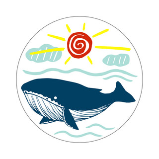 Parks Canada Sticker Design-Marine Conservation Series-Whale