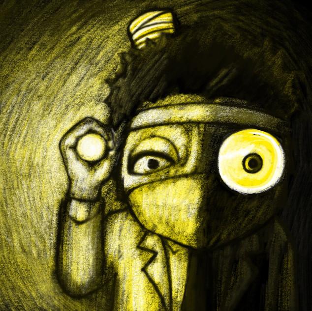 Narrative illustrations piece No.9