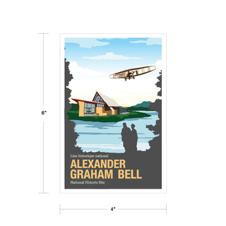 Parks Canada Vintage Series-Alexander Graham Bell National Historic Site