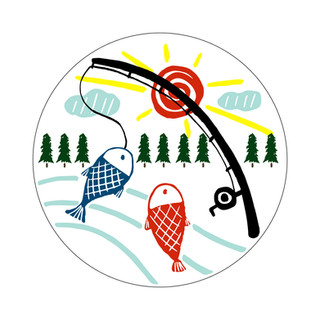 Parks Canada Sticker Design-Marine Conservation Series-Fishing