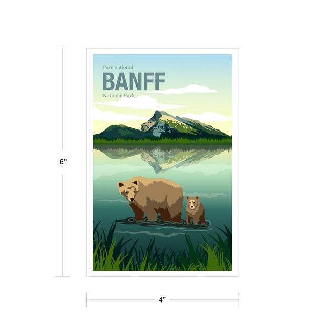 Parks Canada Vintage Series-Banff National Park