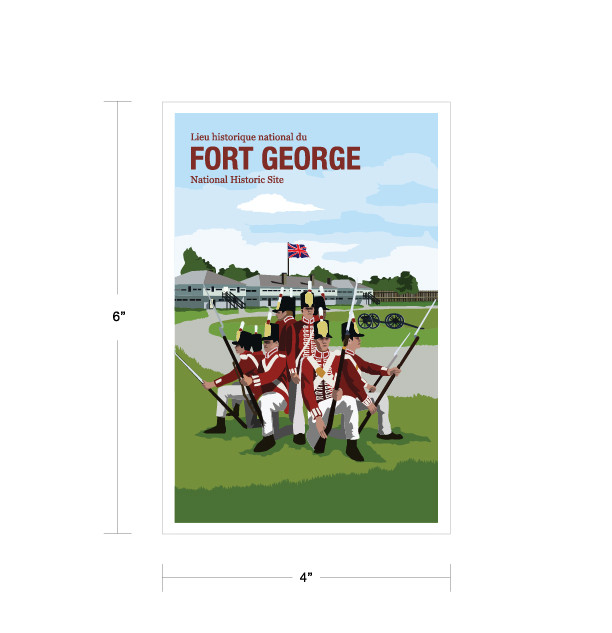 Parks Canada VinParks Canada Vintage Series-For George National Historic Sitetage Postcards-08.jpg