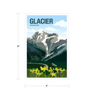 Parks Canada Vintage Series-Glacier National Park