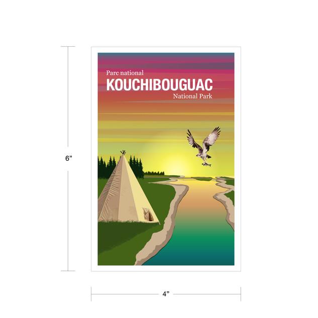 Parks Canada Vintage Series-Kouchibouguac National Park