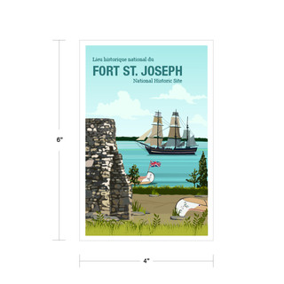 Parks Canada Vintage Series-Fort. St. Joseph National Historic Site