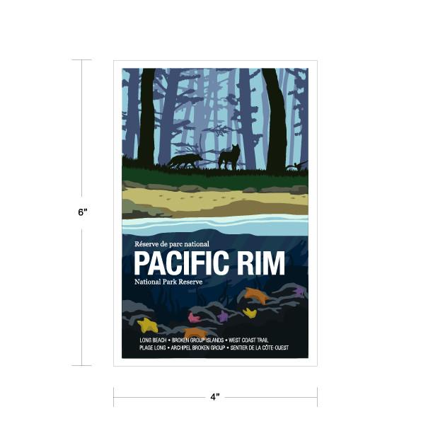 Parks Canada Vintage Series-Pacific Rim National Park Reserve