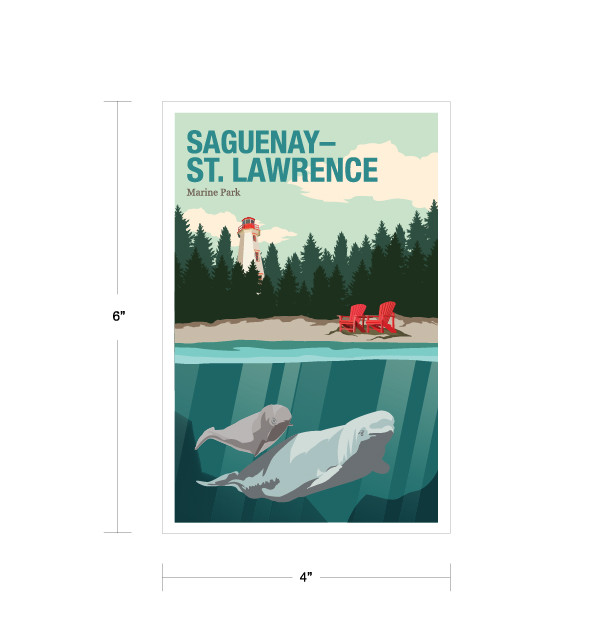 Parks Canada Vintage Series-Saguenay-St. Lawrence Marine Park