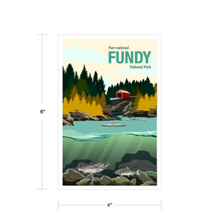 Parks Canada Vintage Series-Fundy National Park