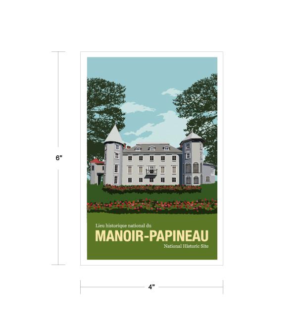 Parks Canada Vintage Series-Manoir Papineau National Historic Site