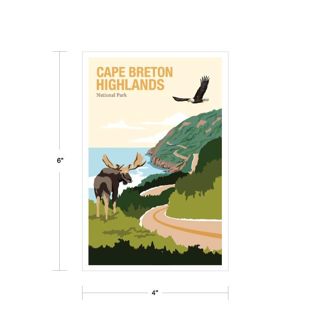 Parks Canada Vintage Series-Cape Breton Highlands National Park
