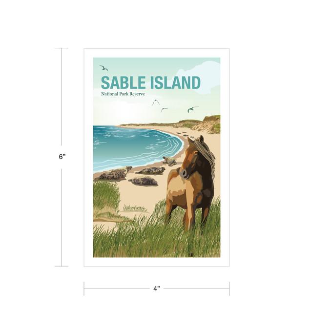 Parks Canada Vintage Series-Sable Island National Park