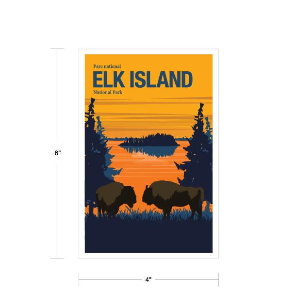 Parks Canada Vintage Series-Elk Island National Park