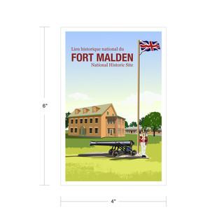 Parks Canada Vintage Series-Fort Malden National Historic Site