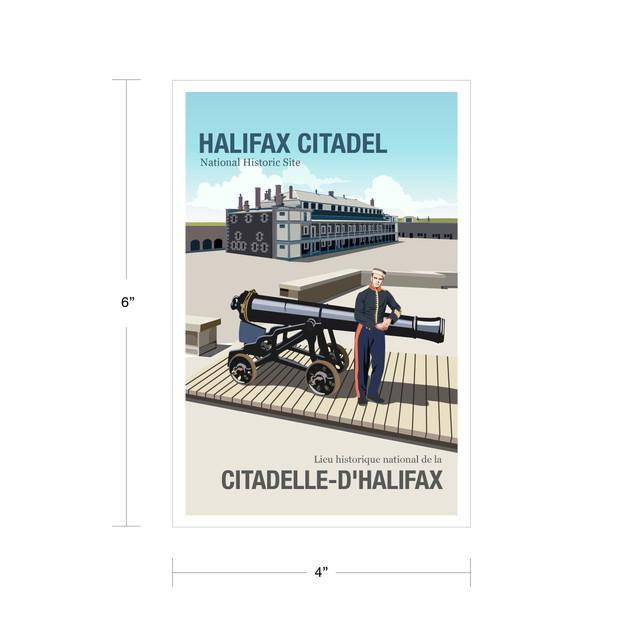 Parks Canada Vintage Series-Halifax Historic Site
