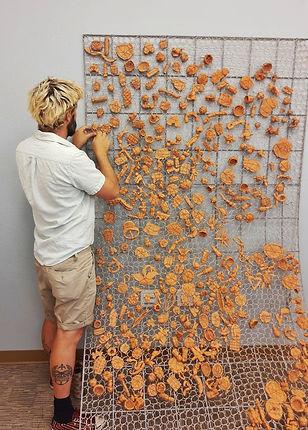 Community Art Installation