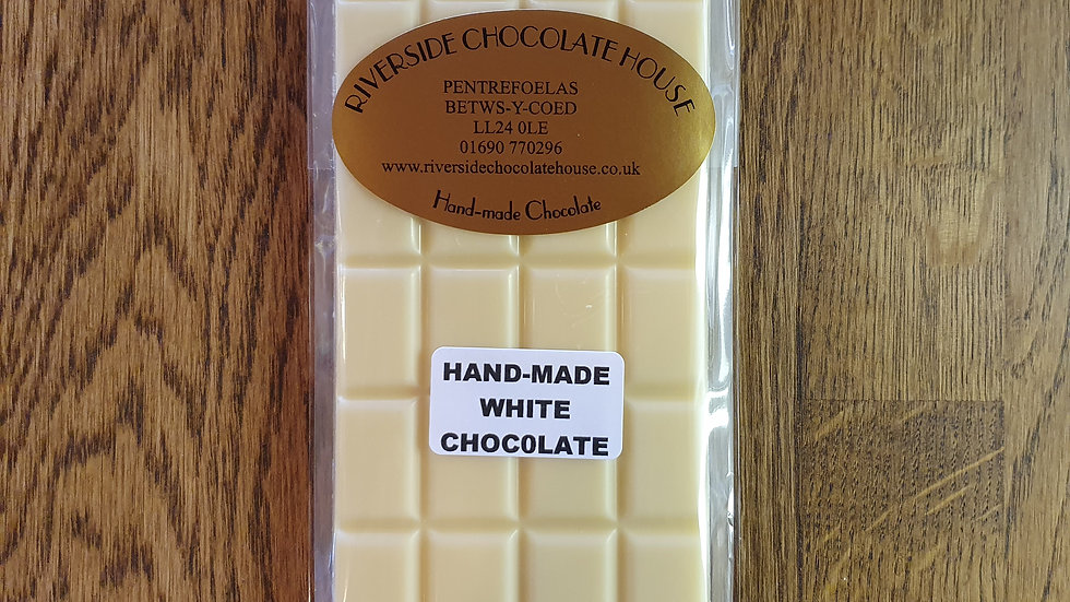 Hand Made White Chocolate Bar