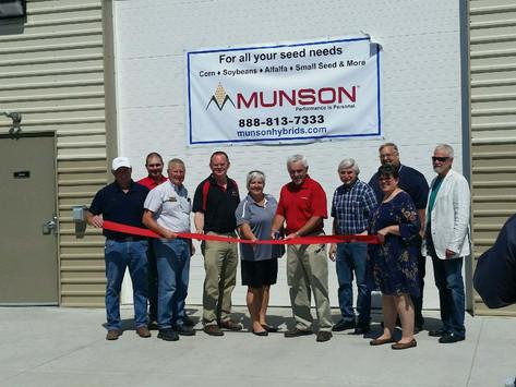 Munson Hybrids, Inc. Ribbon Cutting