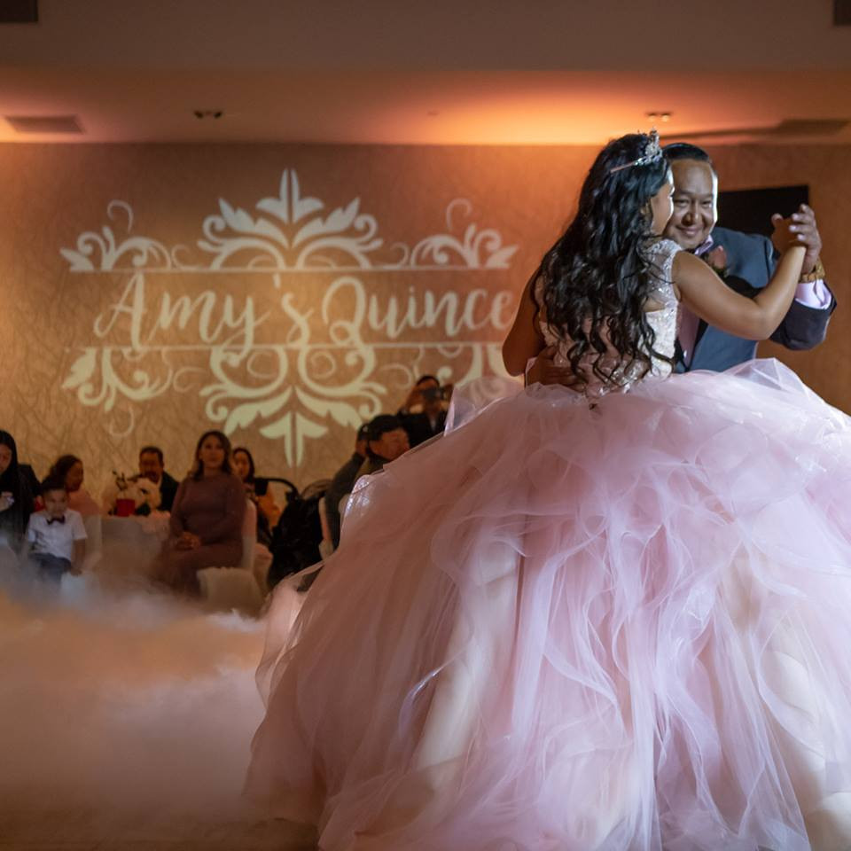 Amy's Quince Father daughter dance.