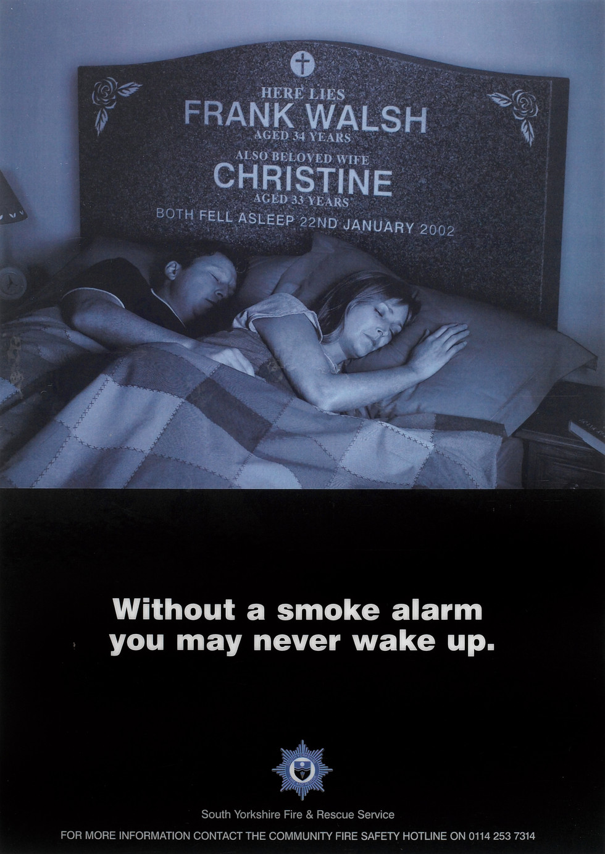 DEATH BED AD