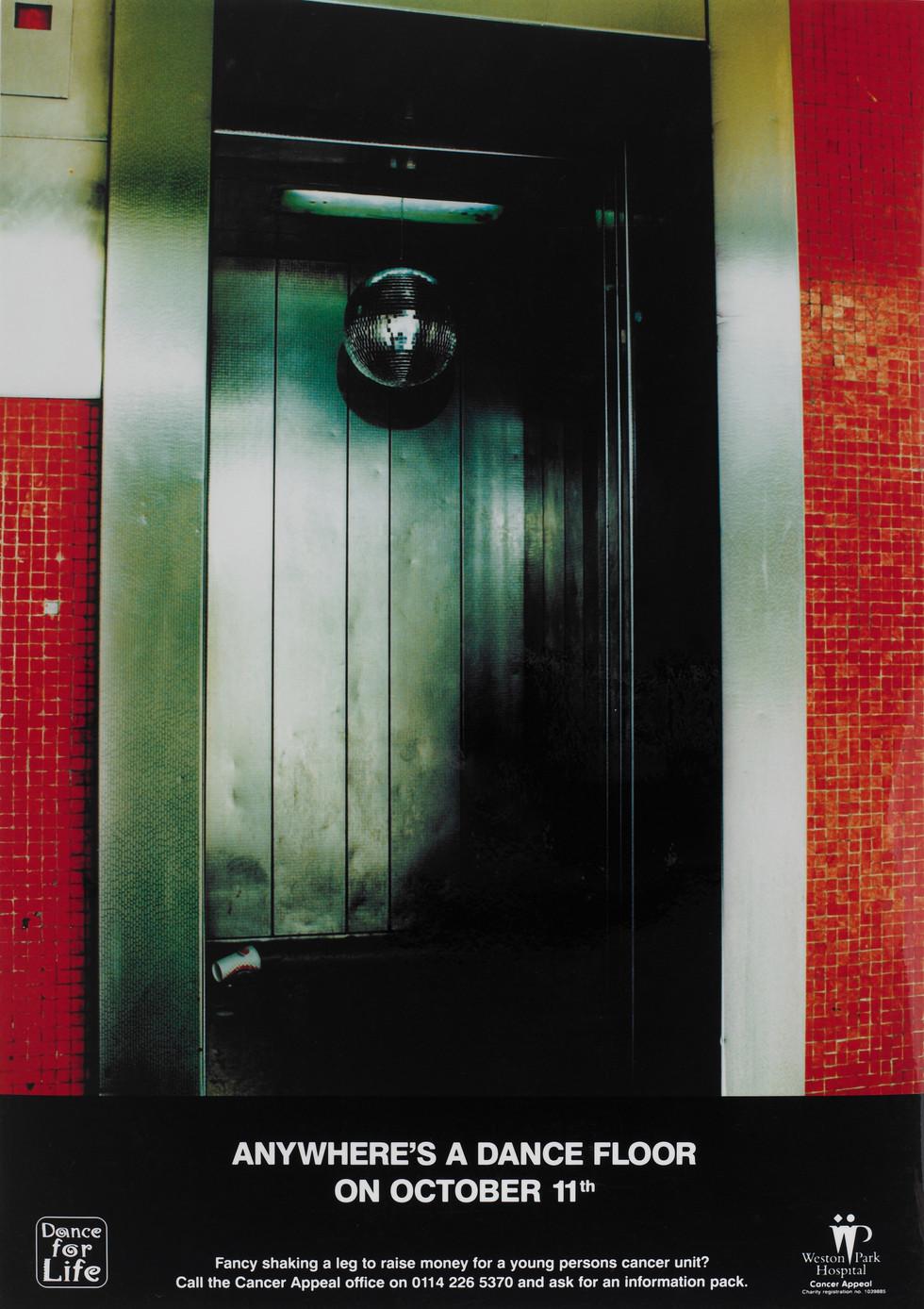 GLITTERBALL DOORWAY AD