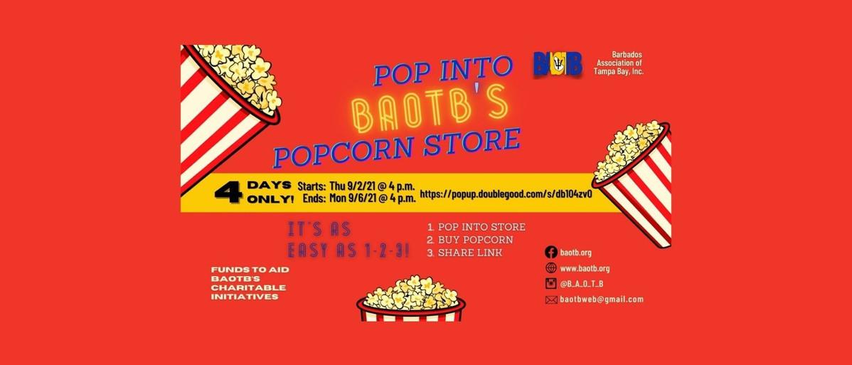 BAOTB Popcorn Fundraiser