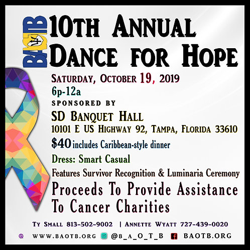Dance for Hope Ticket
