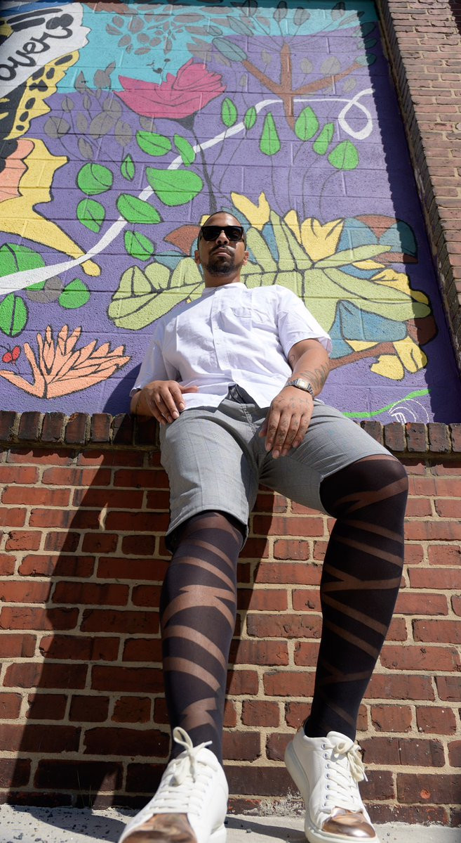Men in Hosiery, tights for men