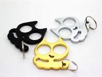 Self-defense keychains