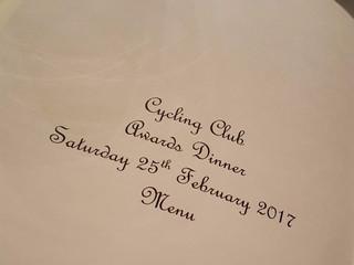 Annual Club Dinner