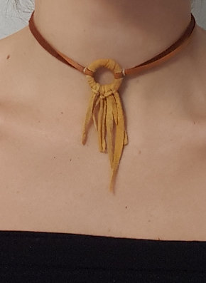 Deer Hide Dream Choker
