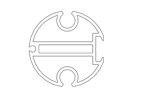 Round junction bar