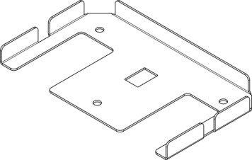 ALLUPACK side rail bottom cap