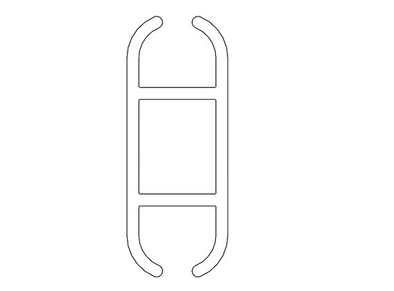Flat junction bar