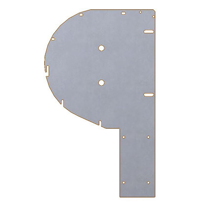 Bandiera dell'albero per E.TUBE  - Shaft bracket for E.TUBE