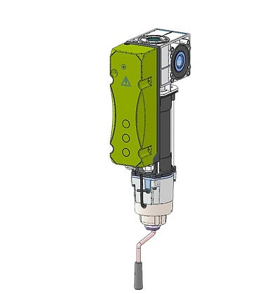 Vertical motor