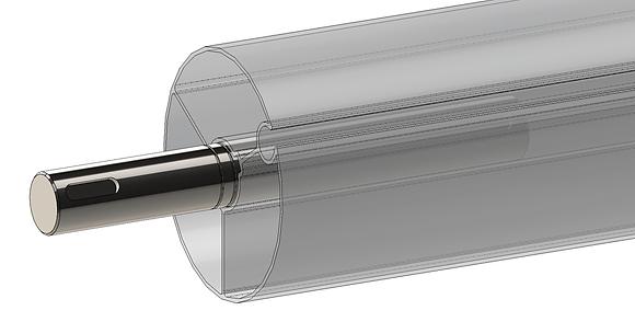 Shaft pivot motor side (TMG)