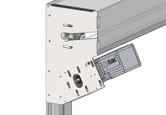 BandStainless steel shaft bracket