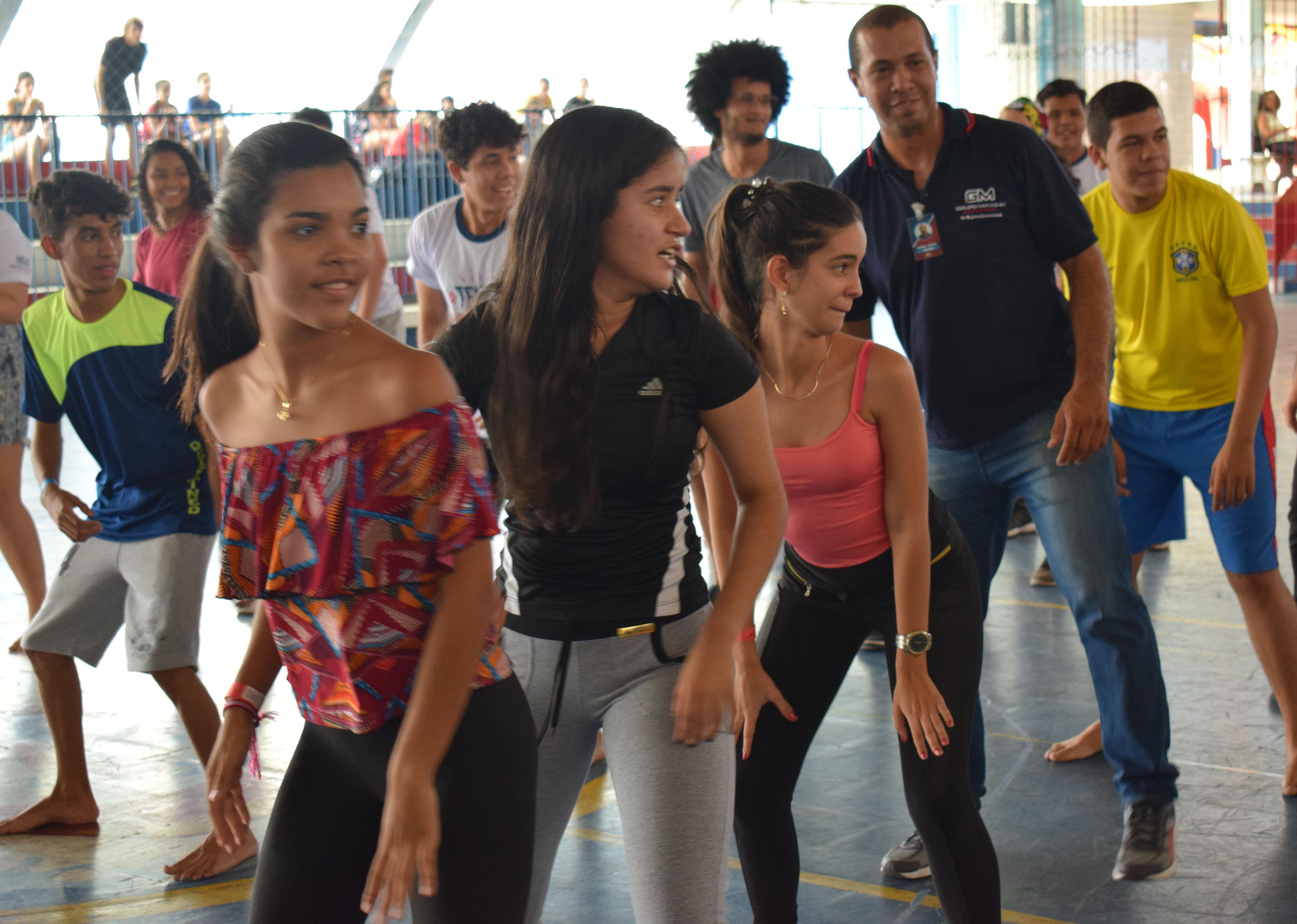 dança música anti-estresse evento