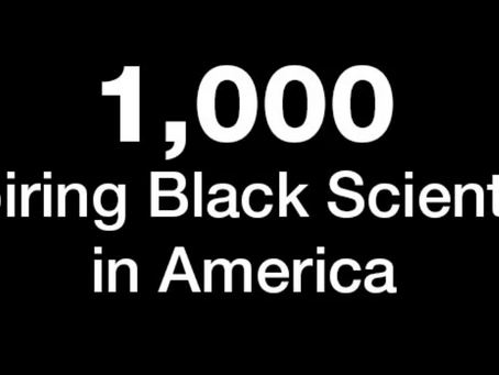 Azeez is recognized as one of 1,000 Inspiring Black Scientists