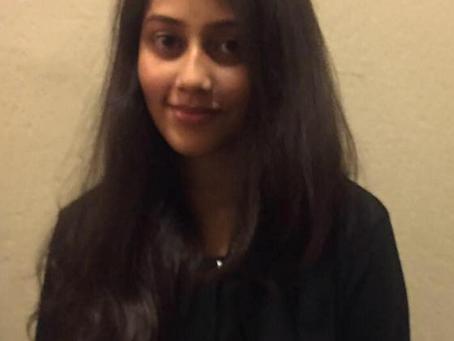 Kahini wins neuroscience training award!