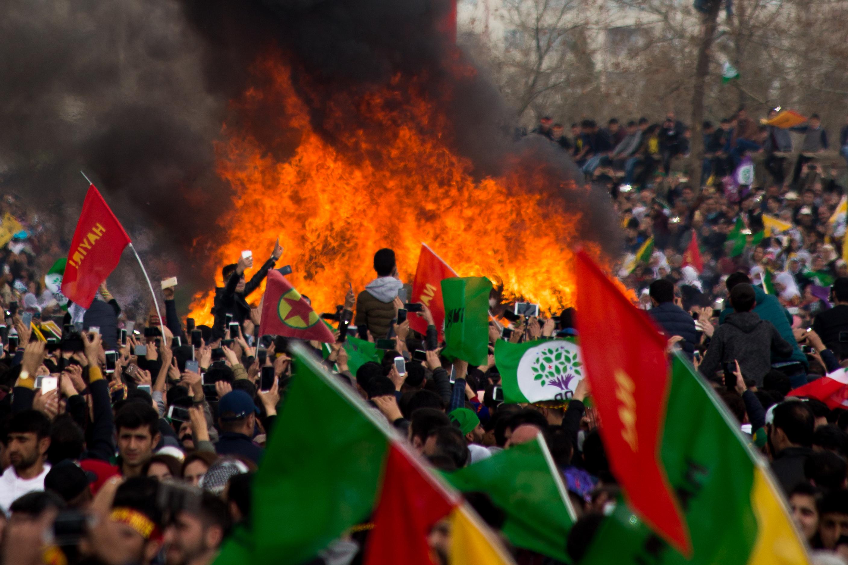 Nouvel an kurde en Turquie