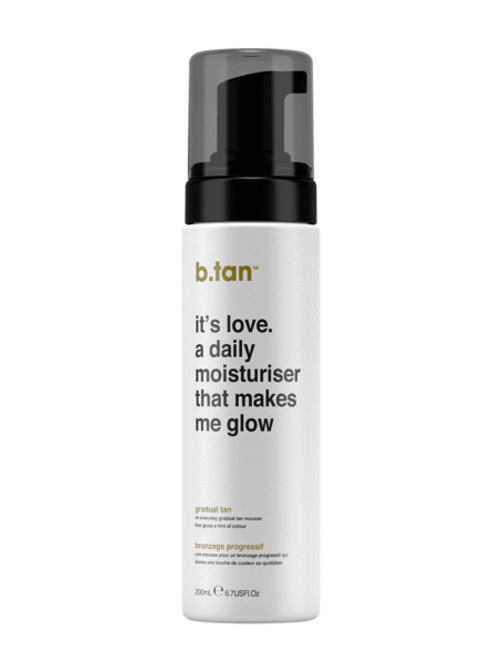 IT'S LOVE. A DAILY MOISTURISER THAT MAKES ME GLOW...