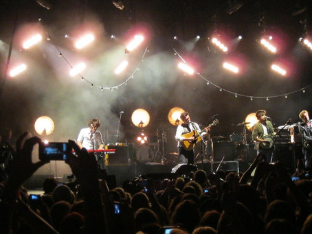 Mumford and Sons Ditch the Banjo: but that's not actually the surprising part