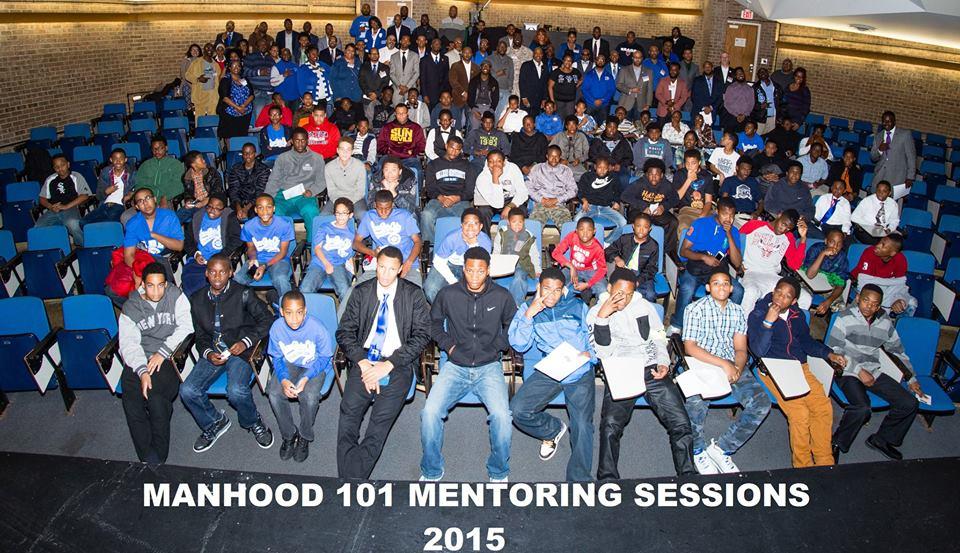Manhood 101 Mentoring Sessions 2015