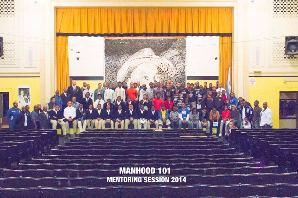 Manhood 101 Mentoring Sessions 2014