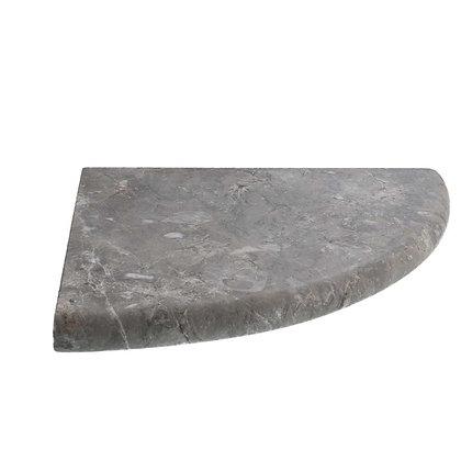 Silver Marble Corner