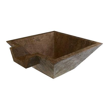 Noce square sink bowl