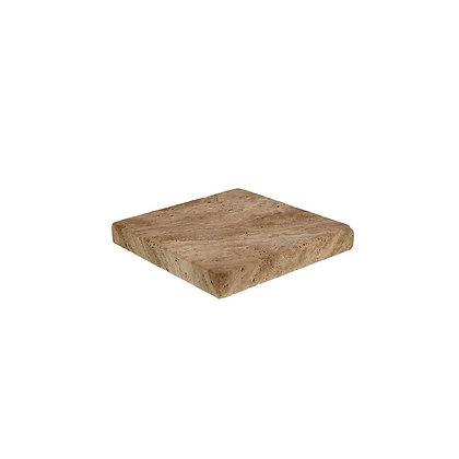 Mini square caramel paver
